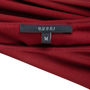 Authentic Pre Owned Gucci Bow Draped Jersey Dress (PSS-369-00058) - Thumbnail 3