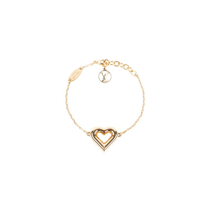 Authentic Second Hand Louis Vuitton LV & Me Heart bracelet (PSS-136-00045)