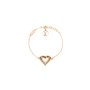 Authentic Second Hand Louis Vuitton LV & Me Heart bracelet (PSS-136-00045) - Thumbnail 0