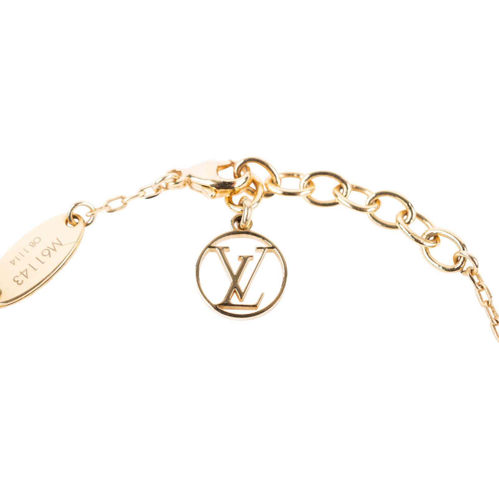d985b1771fc1 ... Authentic Second Hand Louis Vuitton LV   Me Heart bracelet  (PSS-136-00045 ...