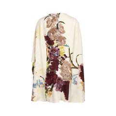 Valentino cape back floral dress 2?1544600356
