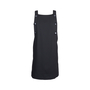 Authentic Second Hand Raoul Black Buttoned Pinafore Dress (PSS-577-00016) - Thumbnail 0