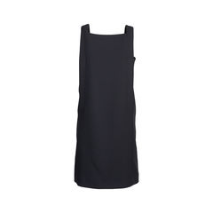 Raoul black buttoned pinafore dress 2?1544600471