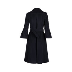 Burberry bell sleeve wool coat 2?1544604677