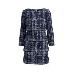 Tiered Tweed Dress