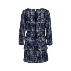 Chanel tiered tweed dress 2?1544604770