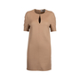 Authentic Pre Owned Yves Saint Laurent Wool Keyhole Dress (PSS-357-00056) - Thumbnail 0