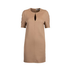 Wool Keyhole Dress