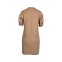 Authentic Pre Owned Yves Saint Laurent Wool Keyhole Dress (PSS-357-00056) - Thumbnail 1