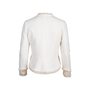 Authentic Second Hand Chanel Silk Trim Tweed Jacket (PSS-357-00053) - Thumbnail 1