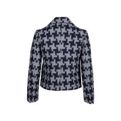 Carven houndstooth wool jacket 2?1544607192