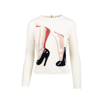 Authentic Second Hand Carven Wool Stiletto Sweater (PSS-515-00129)