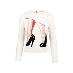 Wool Stiletto Sweater