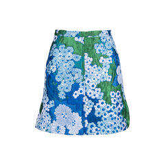 Flowered Cady Skirt