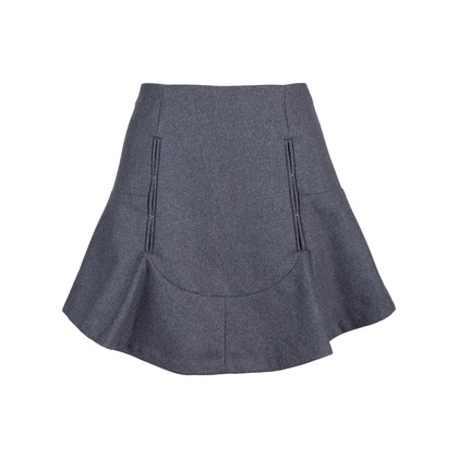 Authentic Pre Owned Carven Wool Flare Skirt (PSS-515-00153)