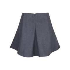 Carven wool flare skirt 2?1544608319