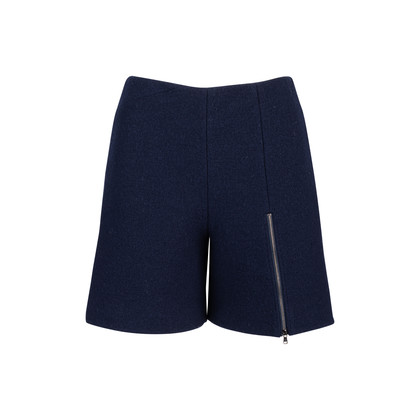 Authentic Second Hand Carven Wool Shorts (PSS-515-00156)