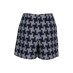 Carven houndstooth wool shorts 2?1544608392