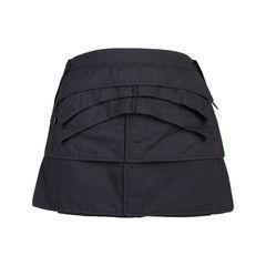 Tier Pleated Skirt