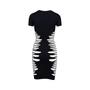 Authentic Second Hand McQ Alexander Mcqueen Knit Mesh Panel Dress (PSS-515-00138) - Thumbnail 1
