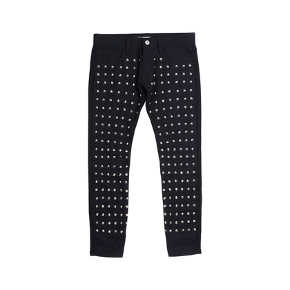 Authentic Pre Owned Junya Watanabe Studded Wool Pants (PSS-515-00144)