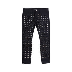 Studded Wool Pants