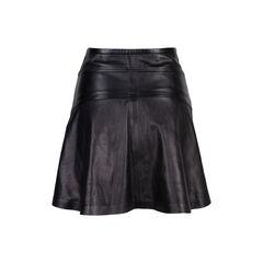 Diane von furstenberg leather skirt 2?1544677671