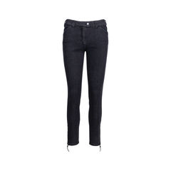 Zip Denim Jeans