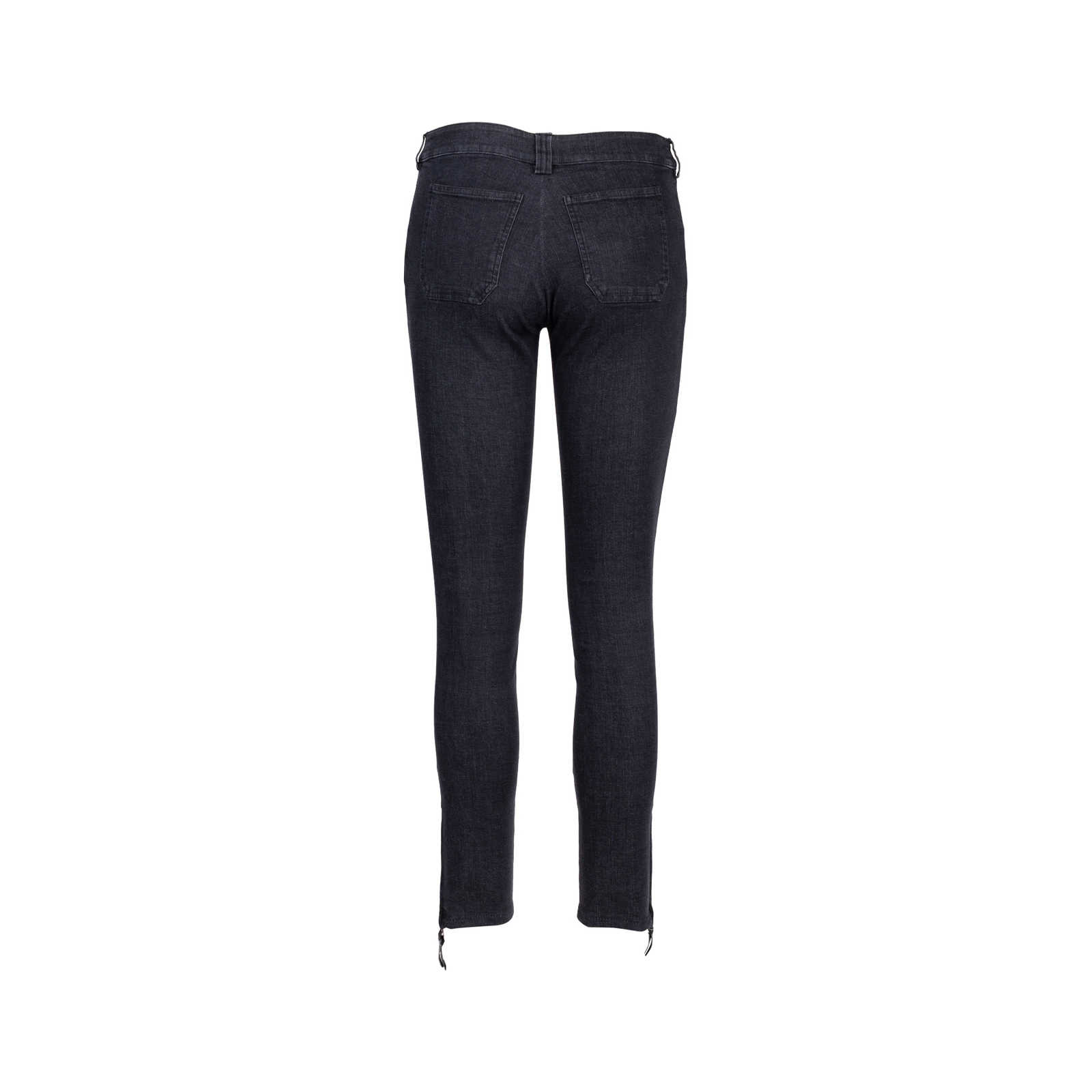 09a16a599130 ... Authentic Second Hand Balenciaga Zip Denim Jeans (PSS-515-00160) -  Thumbnail ...