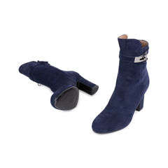 Hermes suede joueuse ankle boots 2?1545019269