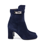 Authentic Second Hand Hermès Suede Joueuse Ankle Boots (PSS-515-00171) - Thumbnail 4