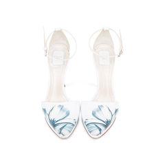 Floral Pump Sandals