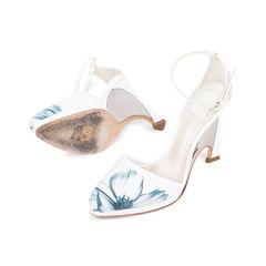 Christian dior floral pump sandals 2?1545019385