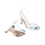 Authentic Second Hand Christian Dior Floral Pump Sandals (PSS-515-00179) - Thumbnail 2