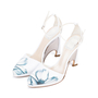 Authentic Second Hand Christian Dior Floral Pump Sandals (PSS-515-00179) - Thumbnail 3