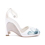 Authentic Second Hand Christian Dior Floral Pump Sandals (PSS-515-00179) - Thumbnail 4