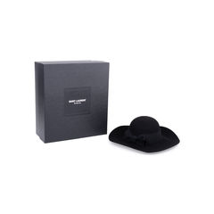 Saint laurent wide brim felt hat 2?1545019487