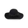 Authentic Second Hand Saint Laurent Wide-Brim Felt Hat (PSS-515-00183) - Thumbnail 2