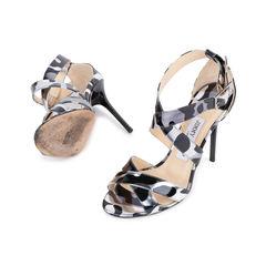 Jimmy choo lottie metallic leather sandals 2?1545021501