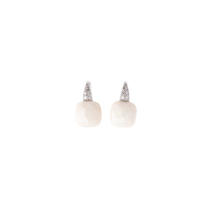 Authentic Pre Owned Pomellato Cacholong Capri Earrings (PSS-515-00177)