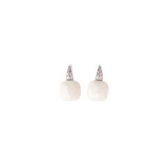Cacholong Capri Earrings