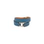 Authentic Pre Owned Hermès Rivale Double Tour Bracelet (PSS-588-00003) - Thumbnail 1