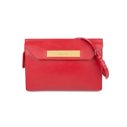 Authentic Pre Owned Balenciaga Cable Flap Clutch (PSS-588-00005)