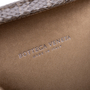 Authentic Pre Owned Bottega Veneta Knot Satin and Watersnake Clutch (PSS-588-00006) - Thumbnail 4