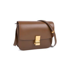 Celine medium box bag brown 2?1545029007