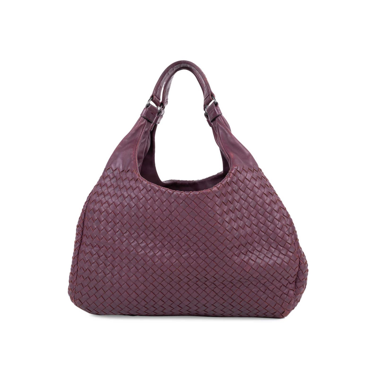889bcafbcd1f Authentic Second Hand Bottega Veneta Intrecciato Campana Shoulder Bag  (PSS-588-00008) ...