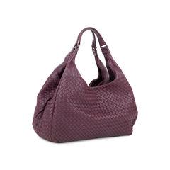 Bottega veneta intrecciato campana shoulder bag purple 2?1545029125