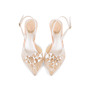 Authentic Second Hand René Caovilla Embellished Lace Slingback Pumps (PSS-588-00016) - Thumbnail 0