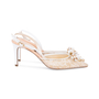 Authentic Second Hand René Caovilla Embellished Lace Slingback Pumps (PSS-588-00016) - Thumbnail 5