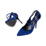 Authentic Pre Owned Nicholas Kirkwood Suede Multistrap Pointed Toe Pumps (PSS-588-00017) - Thumbnail 1